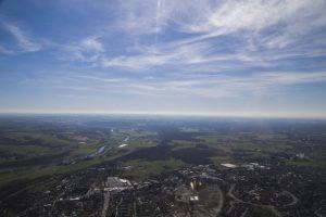 Helikopter-Rundflug über Essen-Kettwig