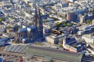 Hubschrauber-Rundflug-Köln-Bonn