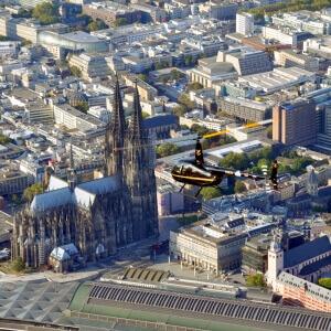helikopter rundflug köln