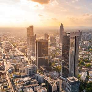 Luftaufnahme Frankfurt