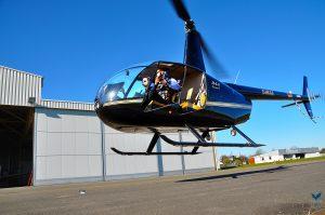 Fotoflug mit der R44