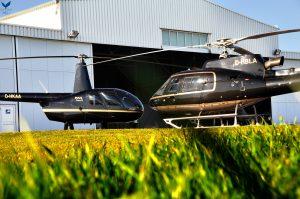 Revierheli Flotte AS350B3+ und R44 Raven II