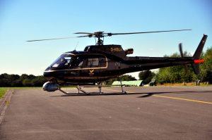 Filmflug Hubschrauber Ruhrgebiet