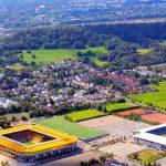 Hubschrauberflug Aachen