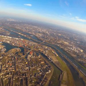 Hubschrauber-Rundflug Duisburg