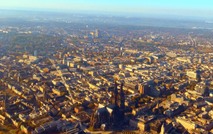 Helikopterflug Köln